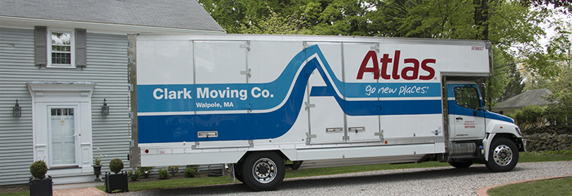 Local Moving Company Truck